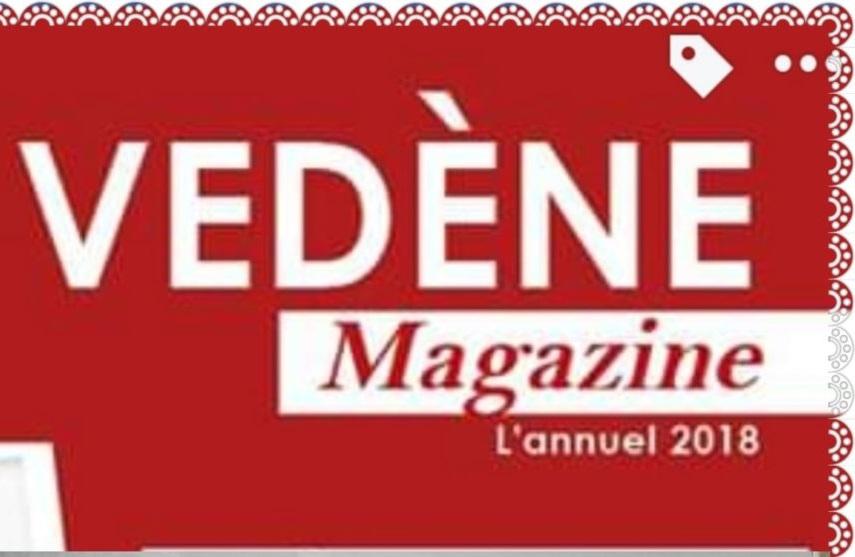 Article dans le Vedène Magazine.